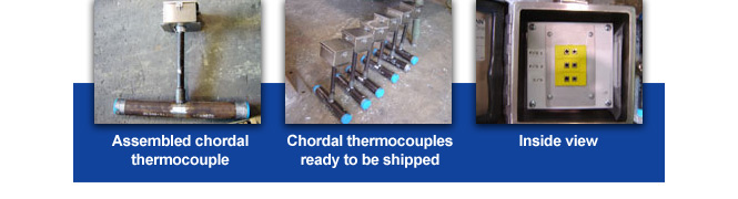 chordal thermocouple