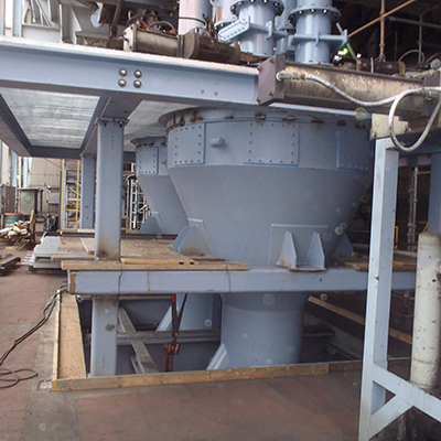 Coal pulverizer static classifier