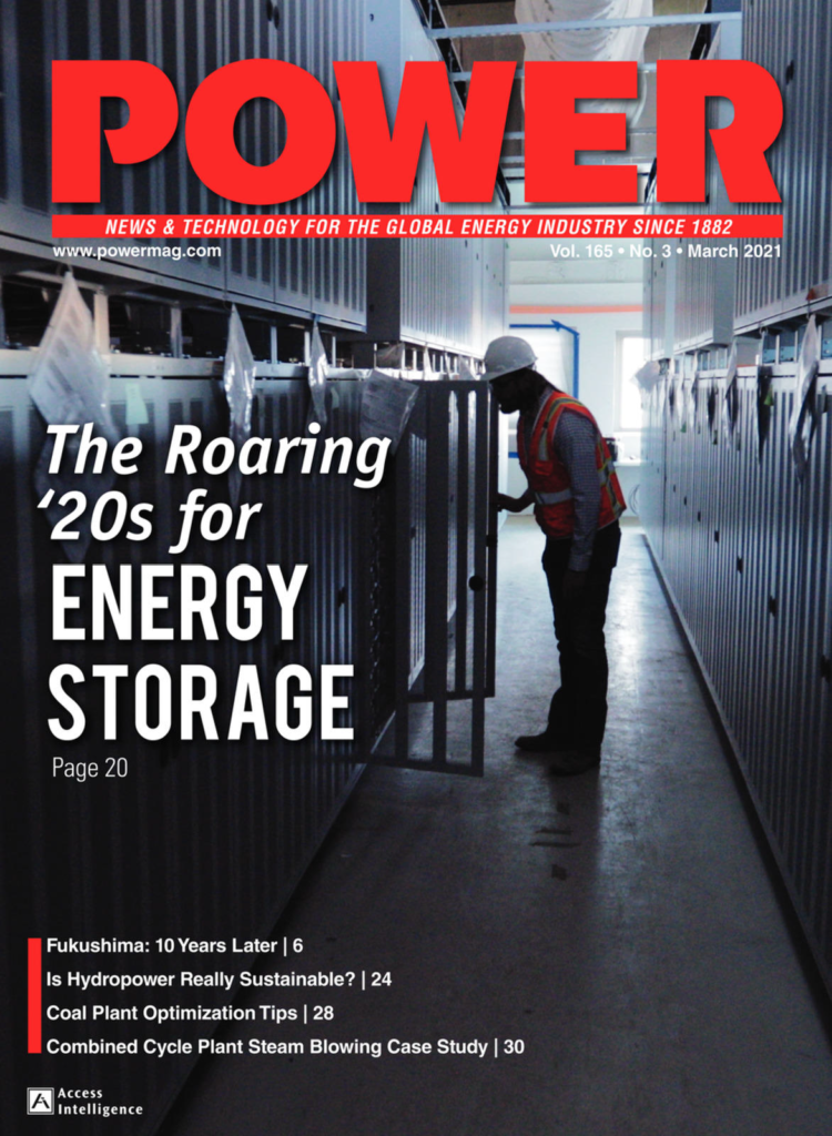 combustion POWER magazine cover